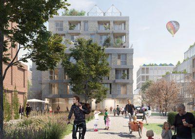 Projekt Kornquartier Bremen